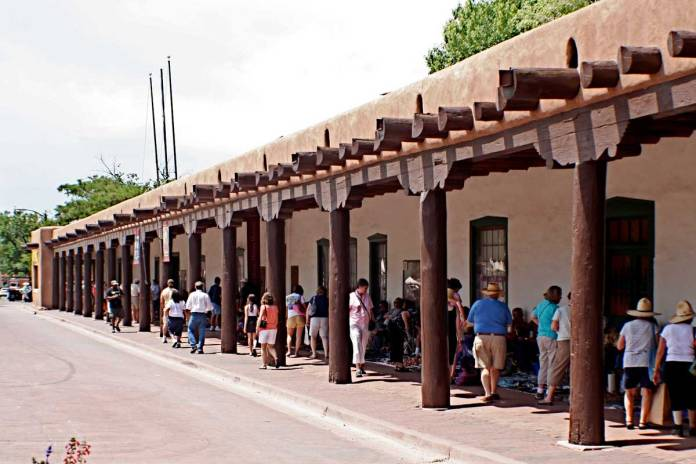 Palace of the Governors in Santa Fe