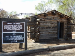 Exterior of Billy the Kid's childhood home