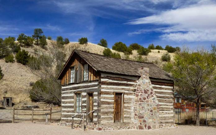 Harry Pye's cabin