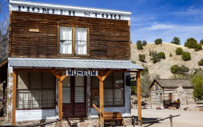 Pioneer Store Museum in Chloride New Mexico