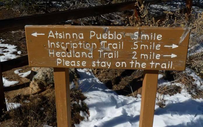 El Morro trails