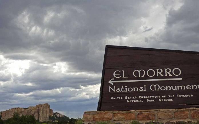 El Morro sign