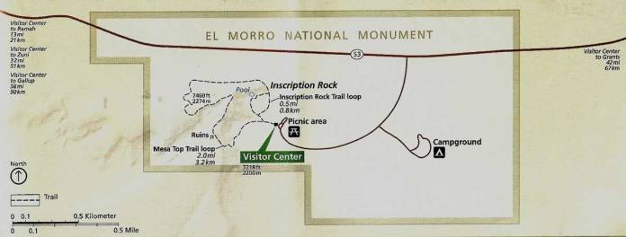 El Morro map