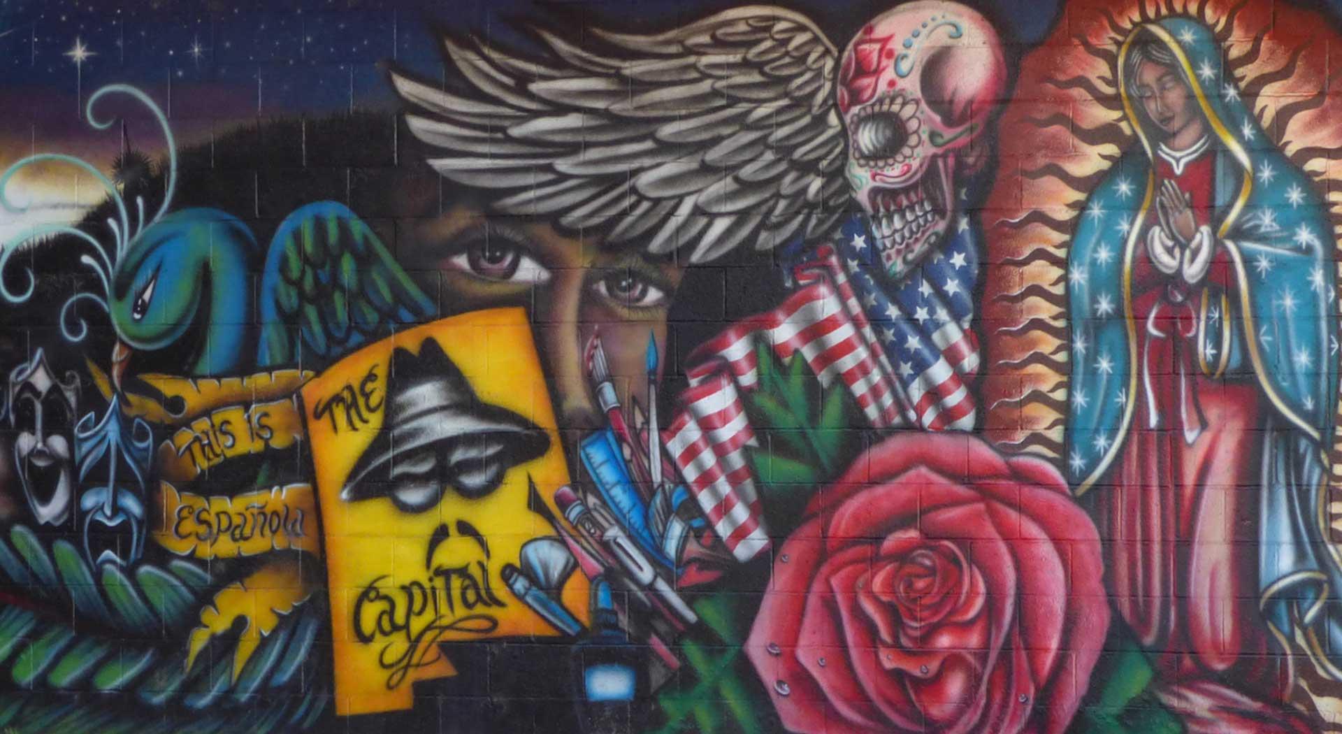 Espanola mural