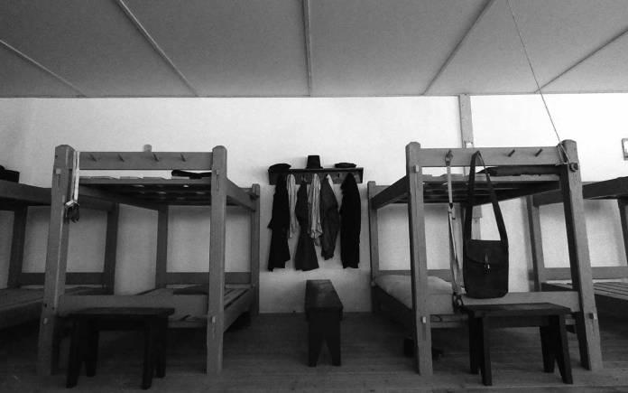 Fort Stanton Barracks exhibit