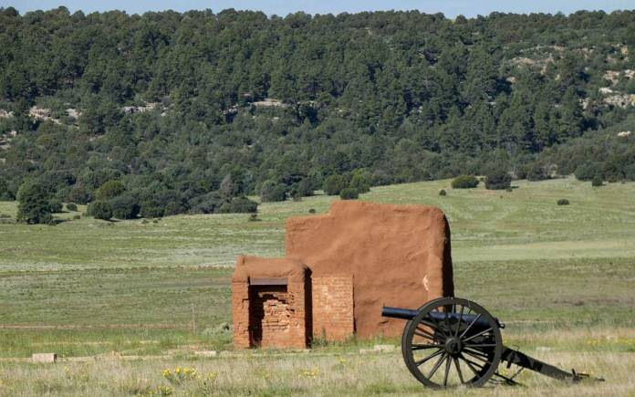 Fort Union canon