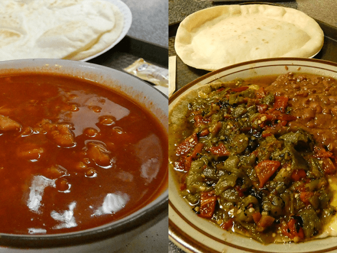 Frontier red and green chile