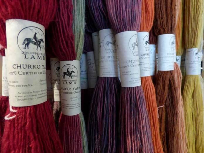 Tierra Amarilla wool
