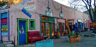 Gypsy Plaza in Madrid, New Mexico