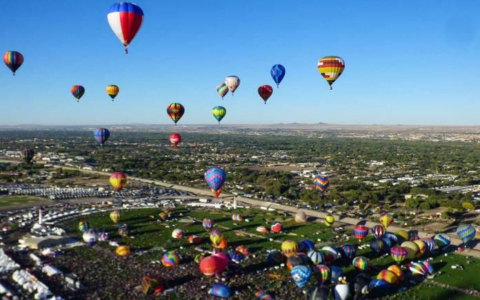 Balloon Fiesta Mass Ascension
