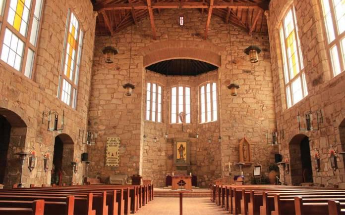 St Joseph Apache Mission interior