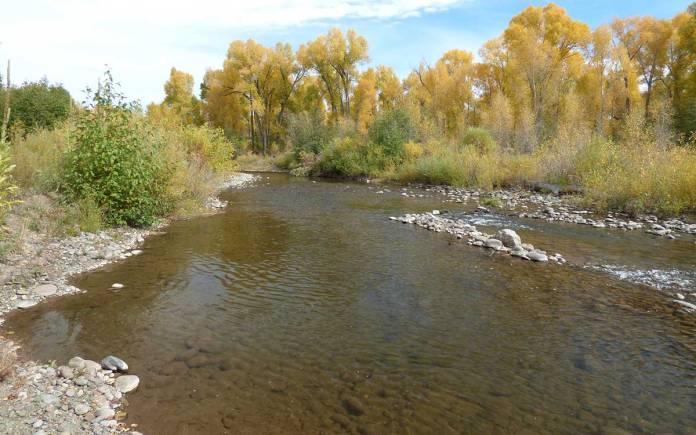 Rio Chama in Chama New Mexico