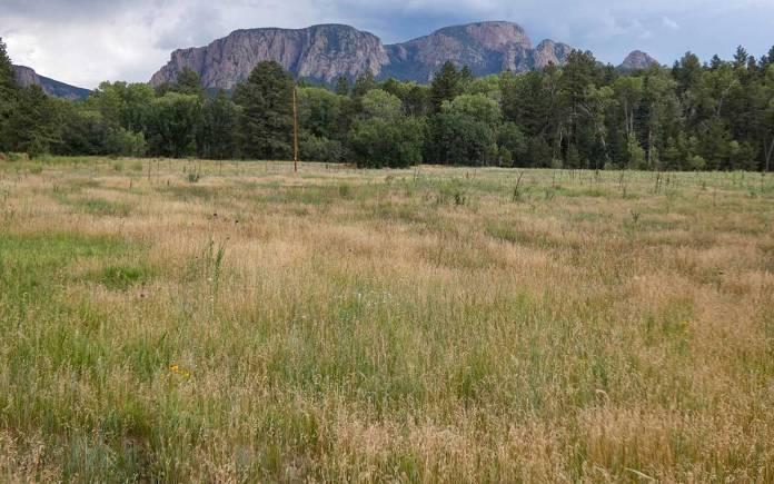 Hermit Peak, near El Porvenir campground