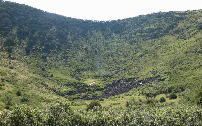 Capulin crater