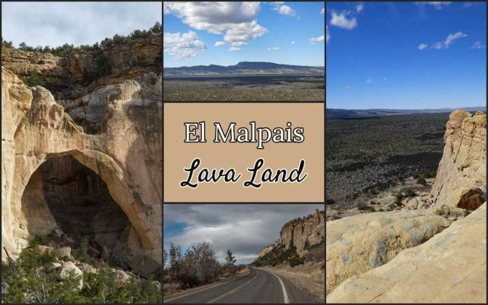 El Malpais lava land