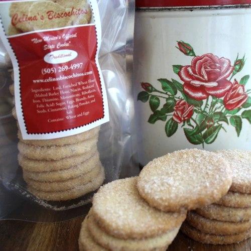 Bite size biscochitos