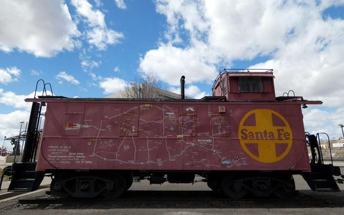 Gallup railroad history