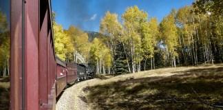 Cumbres Toltec autumn trip