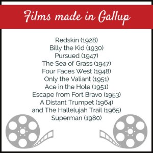 Films made in Gallup