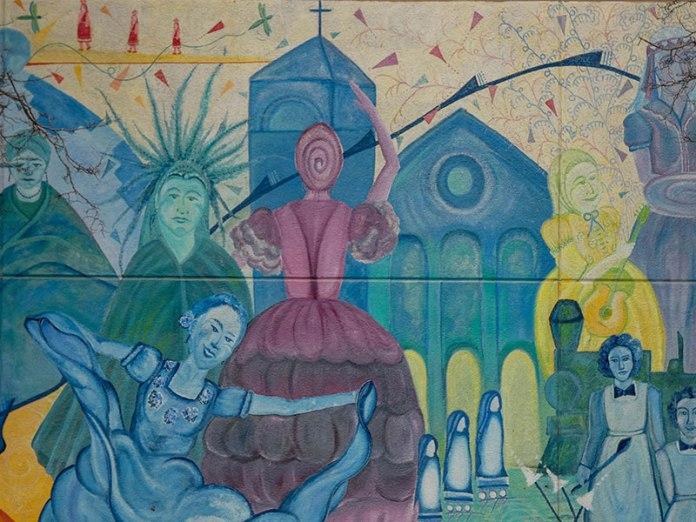 Women's Multi-Cultural mural