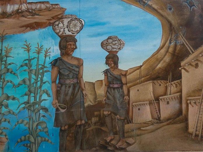 Zuni Culture mural