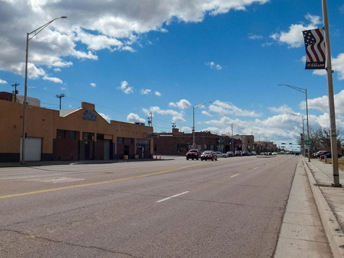 Route 66, aka Main Street in Gallup