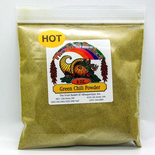8-ounce green chile powder