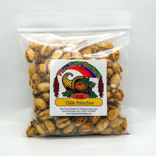 8-ounce green chile pistachios