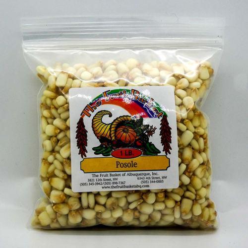 1-pound bag of white corn posole
