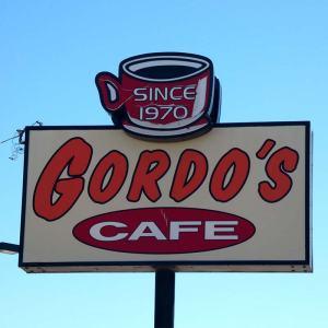 Gordo's Cafe sign