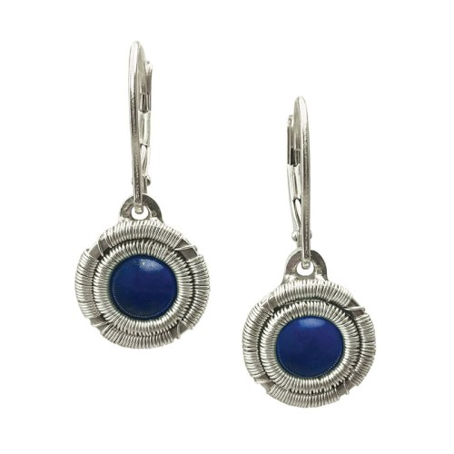 Jack Boglioli Simply Unique Lapis Lazuli earrings