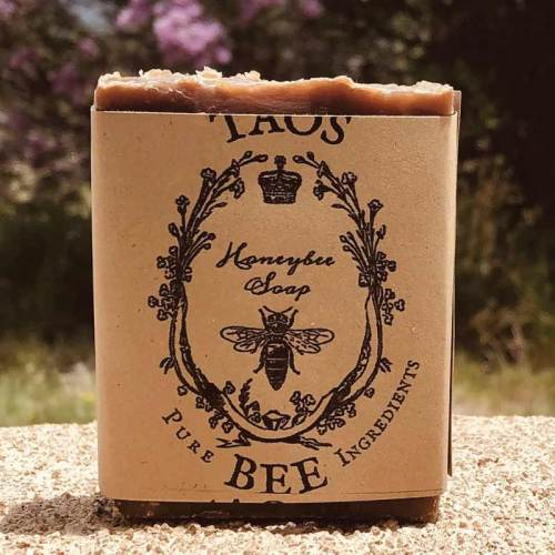 Taos Bee honeybee soap