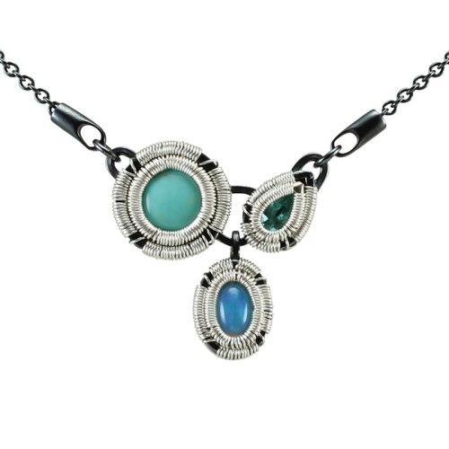 opulence pendant apatite opal turquoise