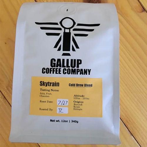 Gallup Coffee Company skytrain cold brew blend