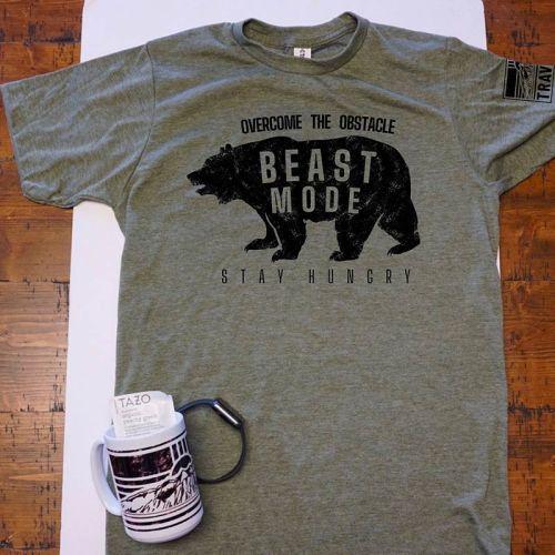 traverse adult unisex beast mode t-shirt