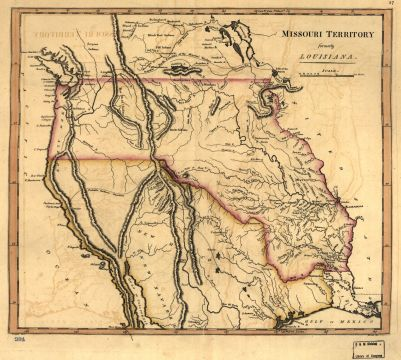 Mathew Carey map, 1814.