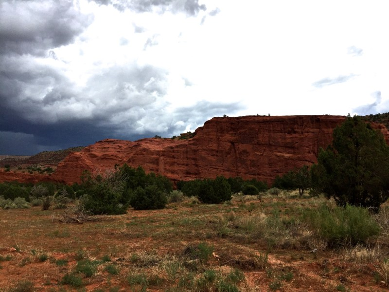 Jemez today between rain storms.