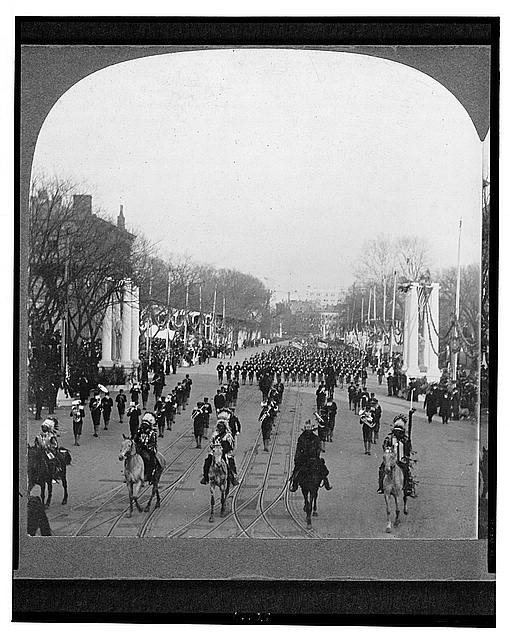 1905 Inaugural Parade