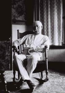 Wyatt Earp, age 75