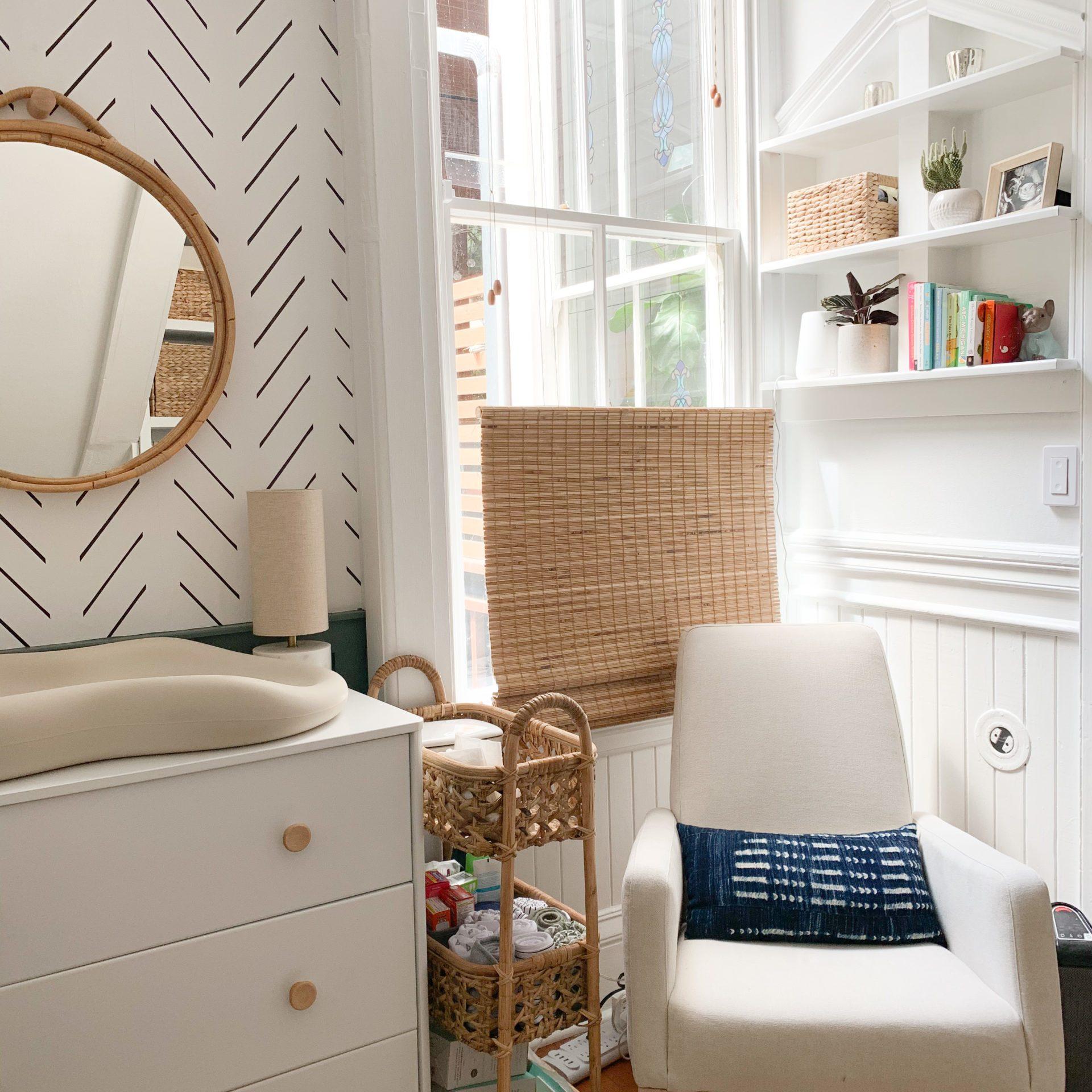 The Closet Nursery: Small Space Nursery Design