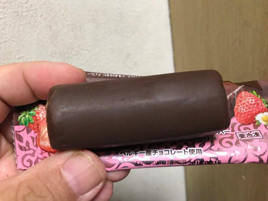 業務スーパー アイスチーズケーキバー ストロベリー
