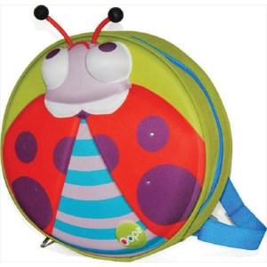 Oops 3D Τσάντα Πλάτης My Starry Backpack Ladybug