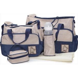 Τσάντα Αλλαξιέρα Cangaroo Stella Blue Σετ 5τμχ