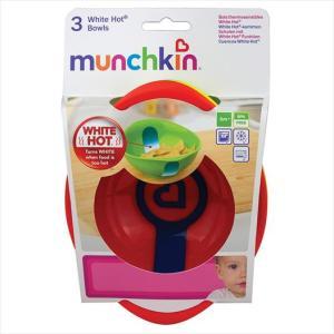 Munchkin Μπολ Γεύματος με Ένδειξη Θερμότητας 3Τμχ