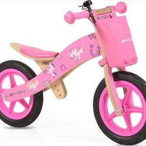 Ποδήλατο Ισορροπίας Woody Pink Moni