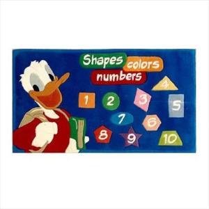 Χειροποίητο Χαλί Disney Donald Duck Shapes Colours Numbers