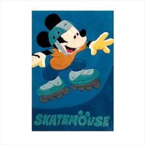Χειροποίητο Χαλί Disney Mickey Skatemouse (80x140cm)
