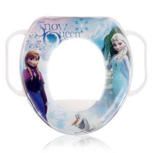 Μαλακό κάθισμα τουαλέτας με χερούλια Disney Winter White Lorelli Bertoni