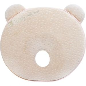 Μαξιλάρι Memory Foam Ergonomic Pillow Kikkaboo Bear Beige Velvet