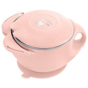 Ανοξείδωτο Μπόλ Θερμός Φαγητού 400ml Cat Pink Kikkaboo